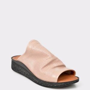 Papuci FLAVIA PASSINI nude, 1, din piele naturala