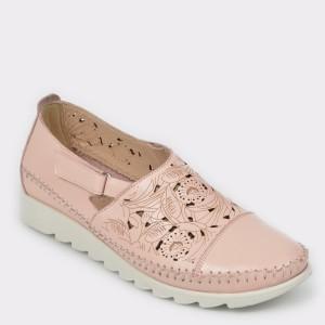 Pantofi FLAVIA PASSINI nude, 62706L1, din piele naturala