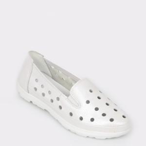 Pantofi FLAVIA PASSINI albi, 521, din piele naturala