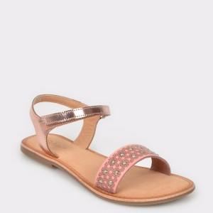 Sandale pentru copii SELECTION KIDS roz, 10673, din piele naturala