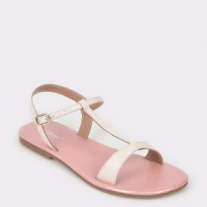 Sandale pentru copii SELECTION KIDS roz, Sh06, din piele naturala