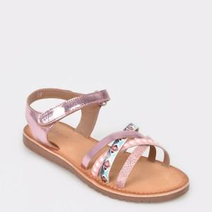 Sandale pentru copii SELECTION KIDS roz, Sh18, din piele ecologica