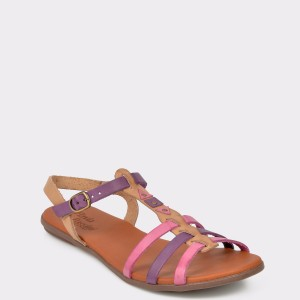 Sandale Flavia Passini Multicolore, 36903, Din Piele Naturala