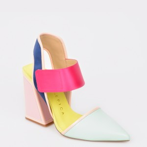 Sandale KAT MACONIE FOR EPICA multicolore , Izzy, din piele naturala si material textil