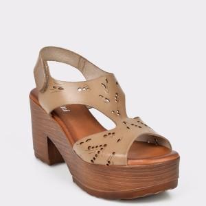 Sandale FLAVIA PASSINI maro, 4420, din piele naturala