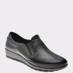 Pantofi Flavia Passini Negri, 220, Din Piele Naturala