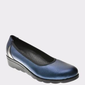 Pantofi Flavia Passini Bleumarin, 804, Din Piele Naturala