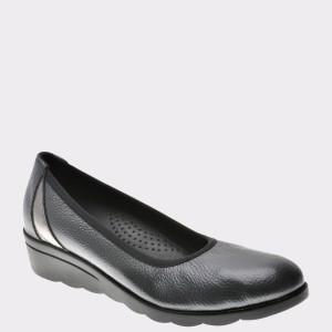 Pantofi Flavia Passini Gri, 804, Din Piele Naturala