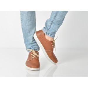 Pantofi Otter Maro, 7450, Din Piele Naturala